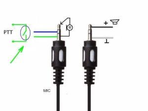FX-4a MIC Pin Layout